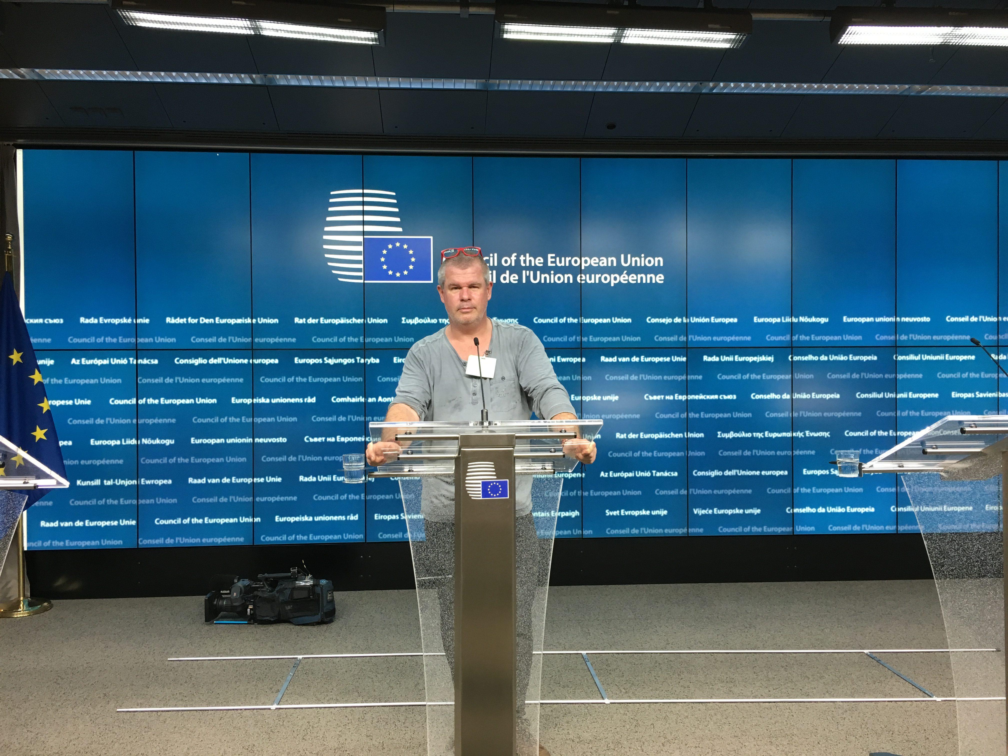 Brussel EU hoofdkwartier