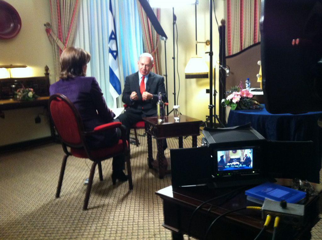 Interview Netanyahu