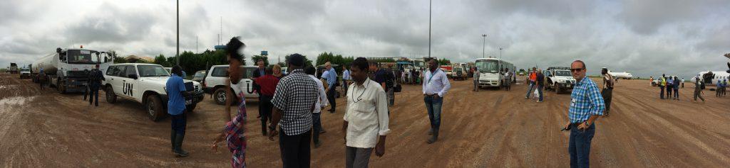 Zuid Soedan met minister Ploumen