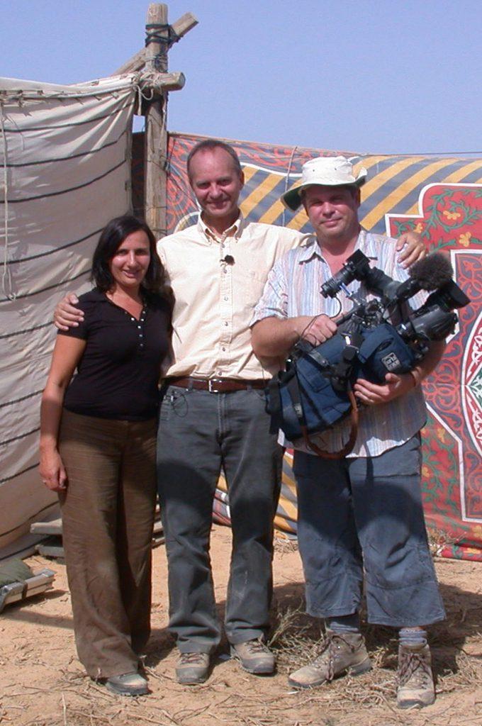 Met minister Kamp in Egypte